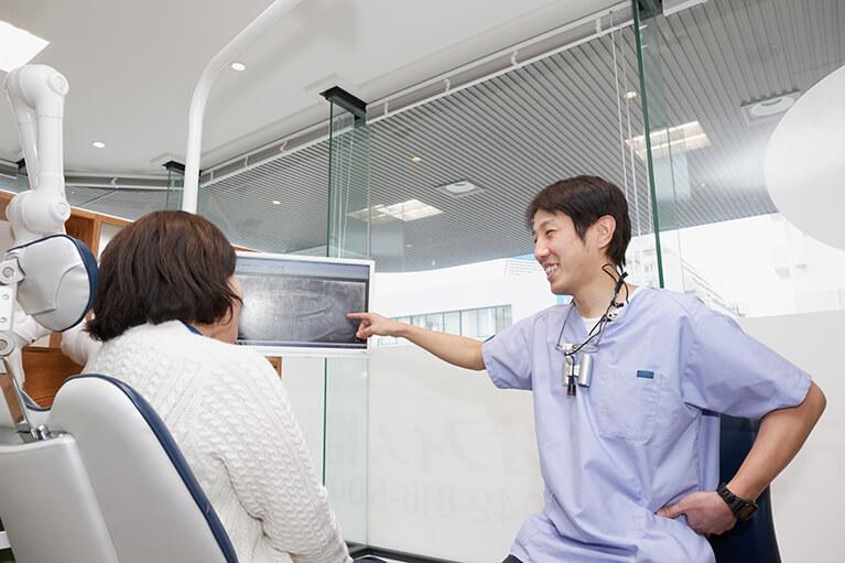患者さんの口を総合的に正していくことを大切にしています